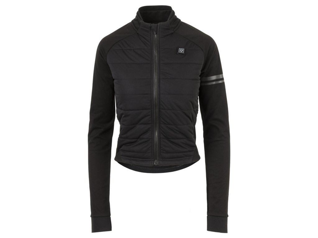 AGU Deep Winter Heated Jacket - Dame cykeljakke med varmezoner - Sort - Str. L