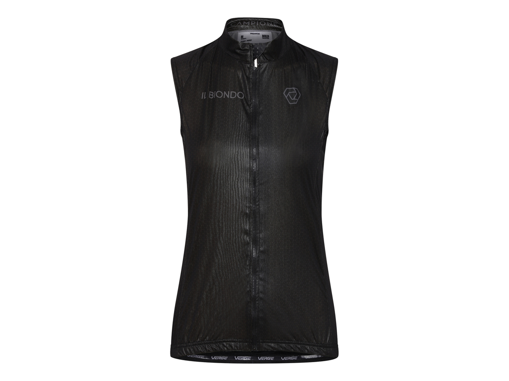 Il Biondo Road Warrier - Cykelvest - Dame - Sort - L